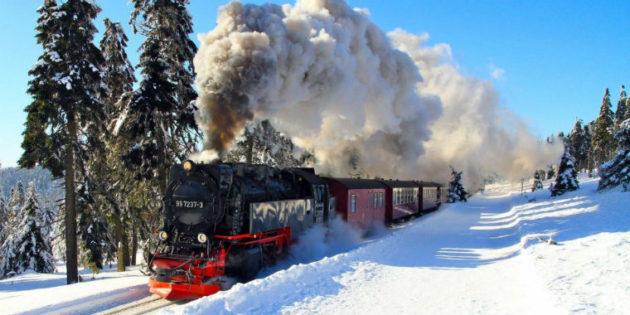 Trenle bir hayalin peşinde