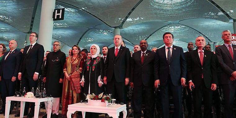 Yeni havalimanı üzerinden rejim inşası